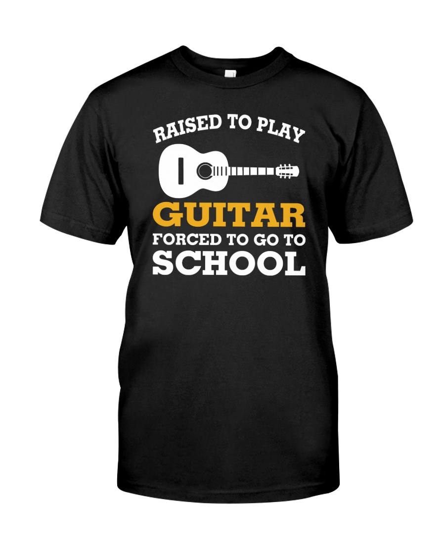 ELECTRIC ACOUSTIC GUITAR TSHIRT FOR GUITARIST Classic T-Shirt