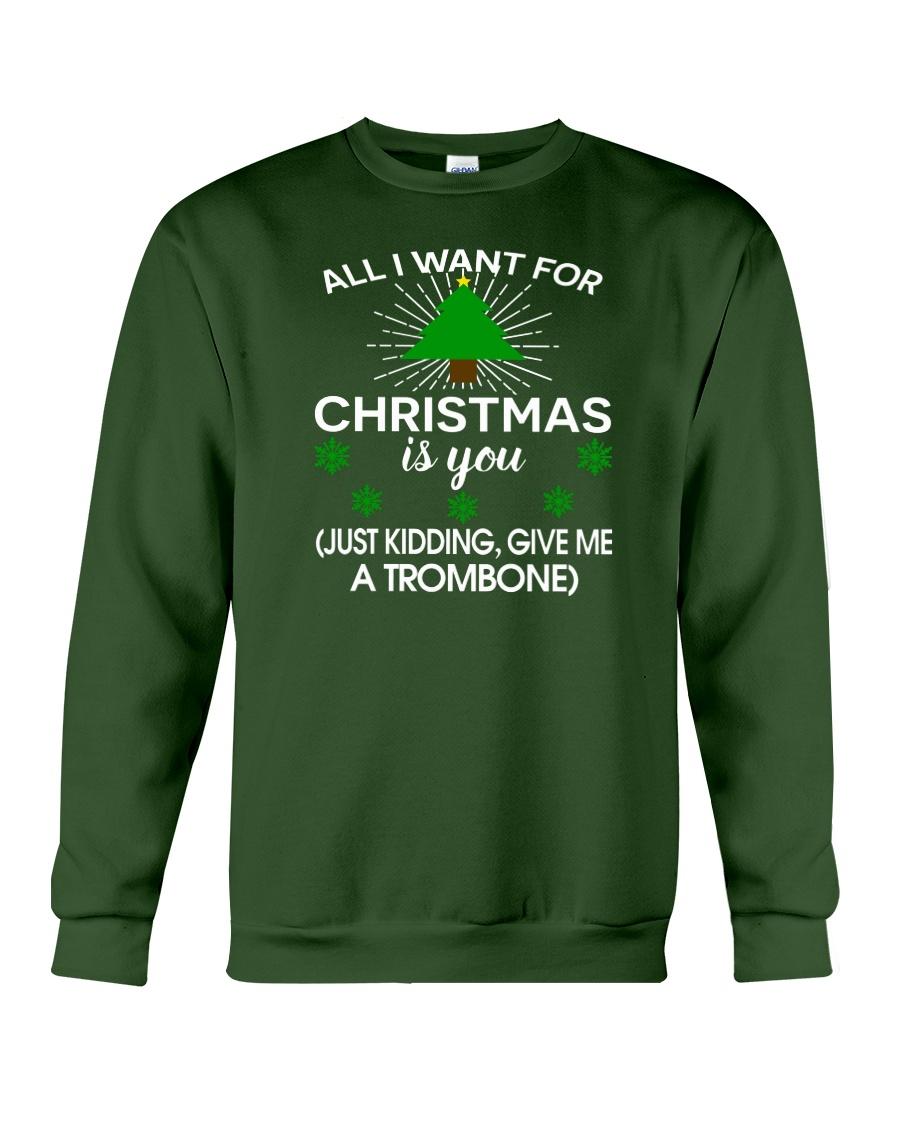 TROMBONE TSHIRT FOR TROMBONIST Crewneck Sweatshirt