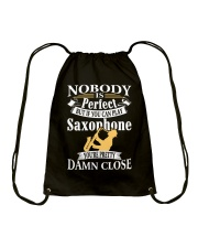 FUNNY SAX TSHIRT FOR SAXOPHONE PLAYER Drawstring Bag thumbnail