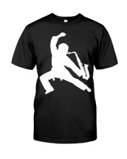 FUNNY SAX TSHIRT FOR SAXOPHONE PLAYER Premium Fit Mens Tee thumbnail