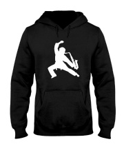 FUNNY SAX TSHIRT FOR SAXOPHONE PLAYER Hooded Sweatshirt tile
