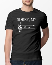 FUNNY DESIGN FOR MUSICIANS Classic T-Shirt lifestyle-mens-crewneck-front-13