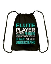 AWESOME DESIGN FOR FLUTE PLAYERS Drawstring Bag thumbnail