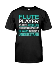 AWESOME DESIGN FOR FLUTE PLAYERS Premium Fit Mens Tee thumbnail
