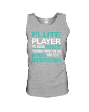 AWESOME DESIGN FOR FLUTE PLAYERS Unisex Tank thumbnail