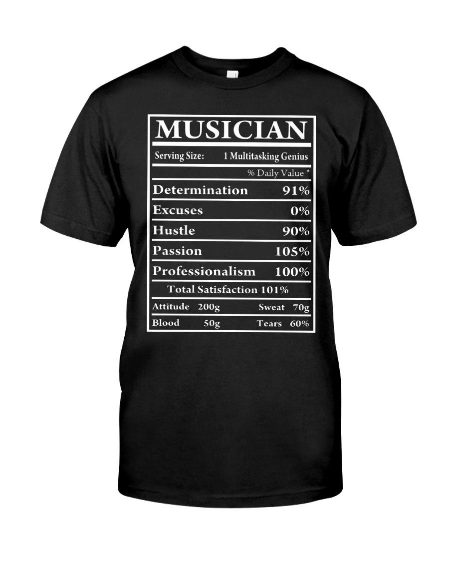 TSHIRT FOR MUSICIAN - MUSIC TEACHER - ORCHESTRA Classic T-Shirt