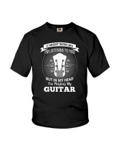 ELECTRIC ACOUSTIC GUITAR TSHIRT FOR GUITARIST Youth T-Shirt tile