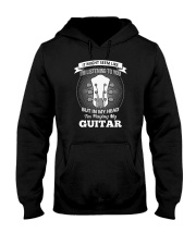 ELECTRIC ACOUSTIC GUITAR TSHIRT FOR GUITARIST Hooded Sweatshirt tile