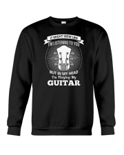 ELECTRIC ACOUSTIC GUITAR TSHIRT FOR GUITARIST Crewneck Sweatshirt tile