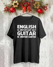ELECTRIC ACOUSTIC GUITAR TSHIRT FOR GUITARIST Classic T-Shirt lifestyle-holiday-crewneck-front-2
