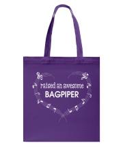 FUNNY BAGPIPES TSHIRT FOR PIPER PIPE BAND Tote Bag thumbnail