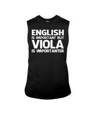 FUNNY TSHIRT FOR VIOLA  PLAYERS  Sleeveless Tee thumbnail