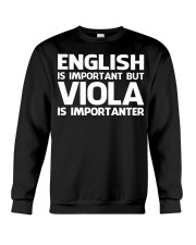 FUNNY TSHIRT FOR VIOLA  PLAYERS  Crewneck Sweatshirt thumbnail