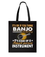 FUNNY DESIGN FOR BANJO PLAYERS Tote Bag thumbnail