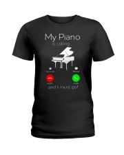 MUST HAVE FOR PIANISTs Ladies T-Shirt thumbnail