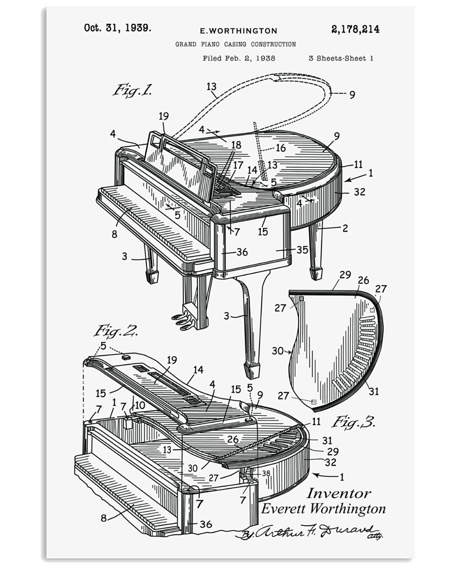 MUST HAVE FOR PIANISTs 11x17 Poster