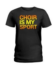 CHOIR SINGING SINGER VOCALIST - SING TSHIRT Ladies T-Shirt thumbnail