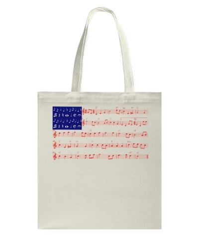 4th Of July - America Flag Note Tshirt - Part 2