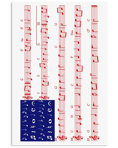 4th Of July - America Flag Note Tshirt - Part 2