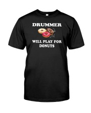 FUNNY DRUM DRUMS TSHIRT FOR DRUMMER Classic T-Shirt thumbnail