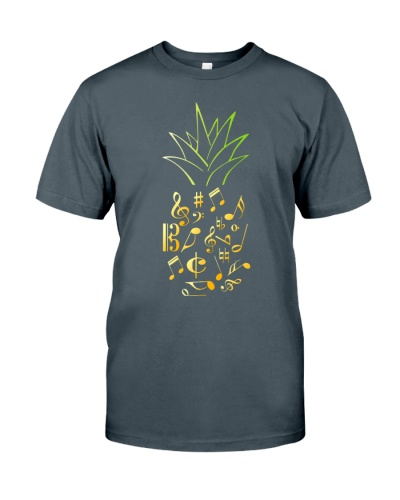 Pineapple Music Notes Musician