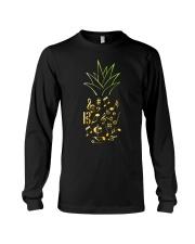 Pineapple Music Notes Musician Long Sleeve Tee thumbnail