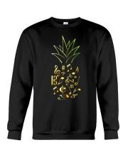 Pineapple Music Notes Musician Crewneck Sweatshirt thumbnail