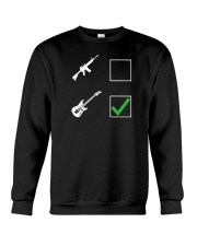 ELECTRIC ACOUSTIC GUITAR TSHIRT FOR GUITARIST Crewneck Sweatshirt thumbnail