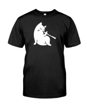 FUNNY DESIGN FOR FLUTE PLAYERS Premium Fit Mens Tee thumbnail