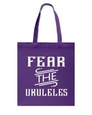 FUNNY DESIGN FOR UKULELE LOVERS Tote Bag thumbnail