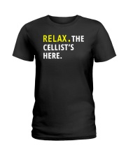 FUNNY TSHIRT FOR CELLO  PLAYERS  Ladies T-Shirt front