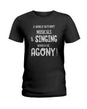 THEATRE THEATER MUSICALS MUSICAL TSHIRT Ladies T-Shirt thumbnail