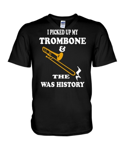 FUNNY DESIGN FOR TROMBONE PLAYERS
