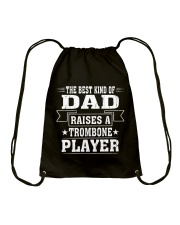 TROMBONE TSHIRT FOR TROMBONIST Drawstring Bag thumbnail