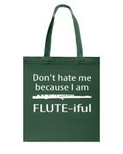 FUNNY TSHIRT FOR FLUTE PLAYERS  Tote Bag thumbnail