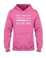 FUNNY TSHIRT FOR FLUTE PLAYERS  Hooded Sweatshirt thumbnail