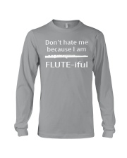 FUNNY TSHIRT FOR FLUTE PLAYERS  Long Sleeve Tee thumbnail