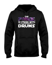 FUNNY DRUM DRUMS TSHIRT FOR DRUMMER Hooded Sweatshirt tile