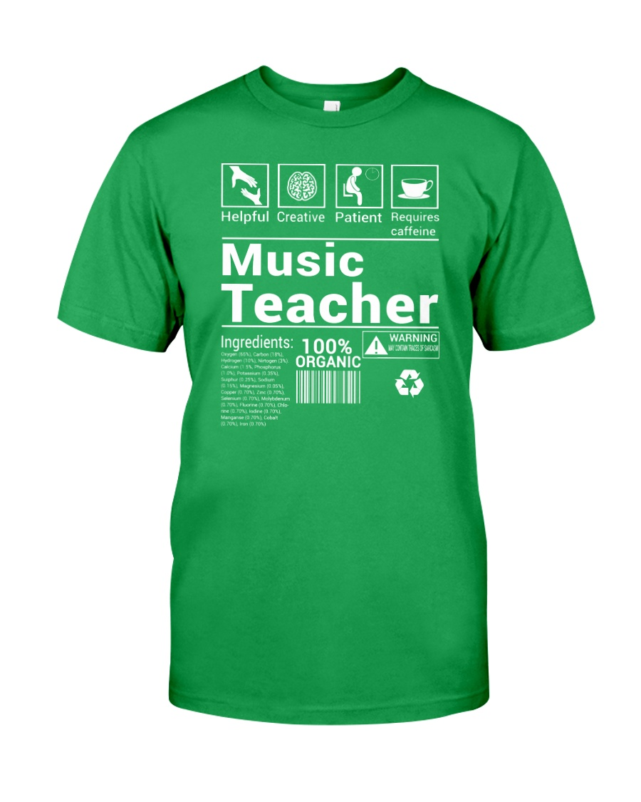 FUNNY MUSIC THEORY TSHIRT FOR MUSICIAN TEACHER Classic T-Shirt