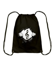 Awesome design for Music Lovers Drawstring Bag thumbnail