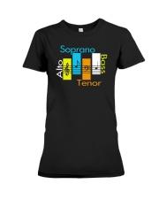 CHOIR SINGING SINGER VOCALIST - SING TSHIRT Premium Fit Ladies Tee thumbnail
