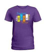 CHOIR SINGING SINGER VOCALIST - SING TSHIRT Ladies T-Shirt front