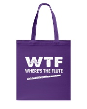 FUNNY DESIGN FOR FLUTE PLAYERS Tote Bag thumbnail