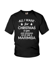 FUNNY DESIGN FOR MARIMBA PLAYERS Youth T-Shirt thumbnail