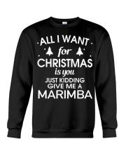 FUNNY DESIGN FOR MARIMBA PLAYERS Crewneck Sweatshirt thumbnail