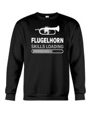 FUNNY DESIGN FOR FLUGELHORN PLAYERS Crewneck Sweatshirt thumbnail
