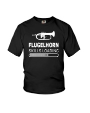 FUNNY DESIGN FOR FLUGELHORN PLAYERS Youth T-Shirt thumbnail