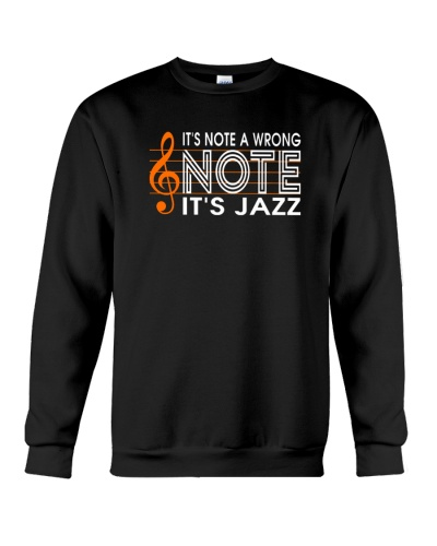 ITS NOT A WRONG NOTE ITS JAZZ