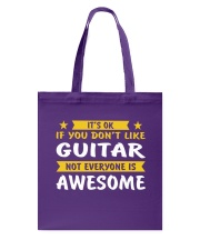 ELECTRIC ACOUSTIC GUITAR TSHIRT FOR GUITARIST Tote Bag thumbnail