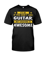 ELECTRIC ACOUSTIC GUITAR TSHIRT FOR GUITARIST Premium Fit Mens Tee thumbnail